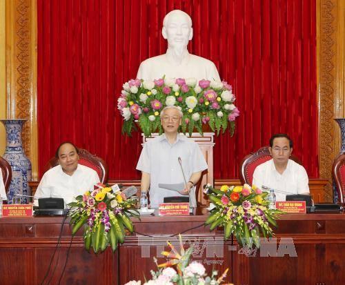 Tổng Bí thư lần đầu tiên tham gia Đảng ủy Công an Trung ương - 1