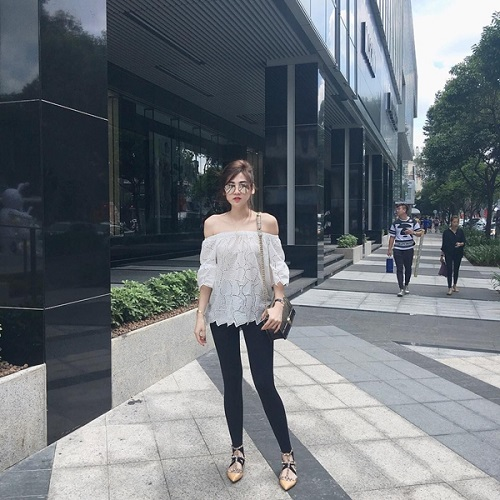 Mỹ nữ Việt ăn vận khỏe khoắn, sành điệu dạo phố - 5