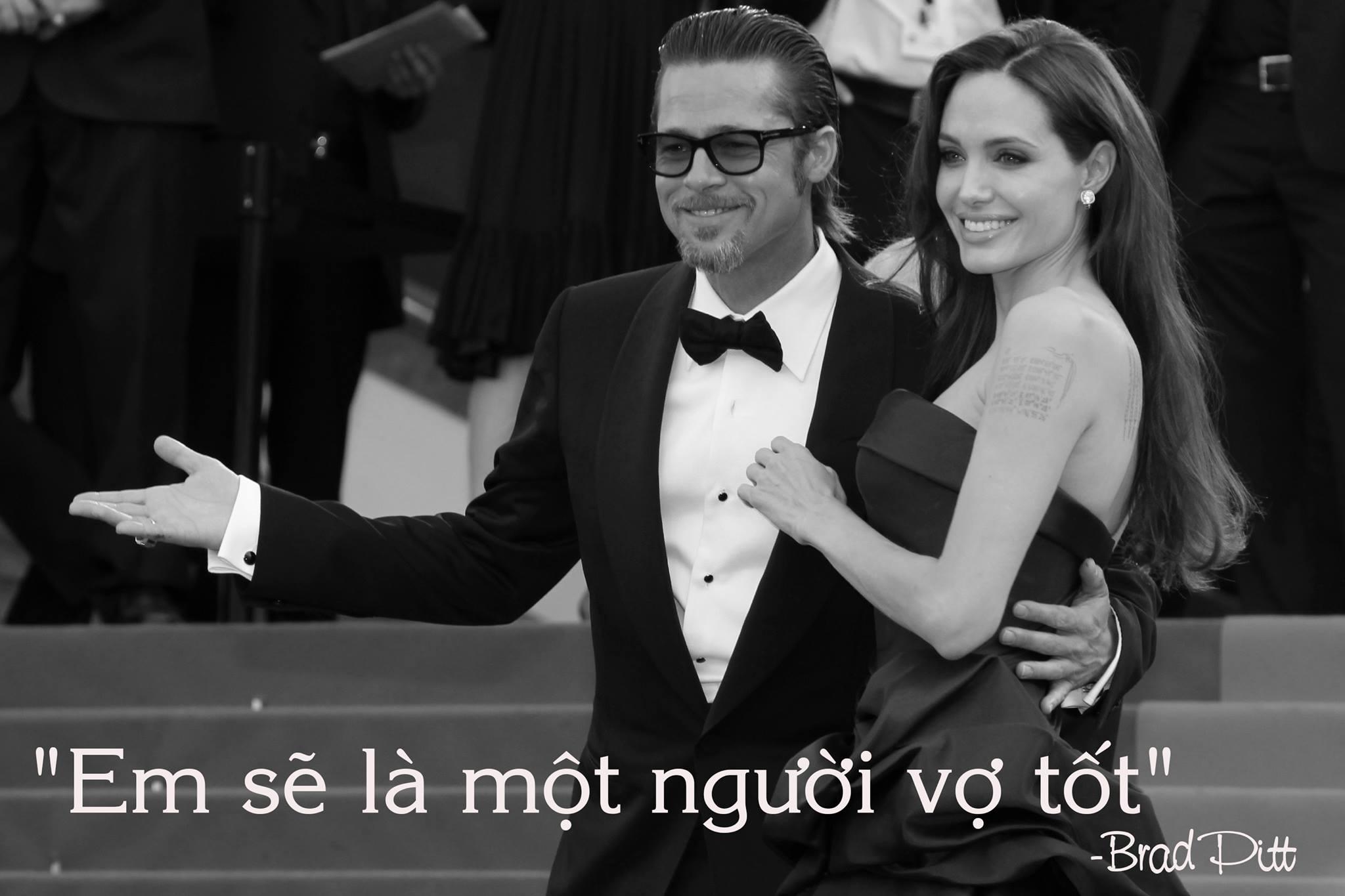 """Những phát ngôn tình yêu """"để đời"""" của cặp Jolie - Pitt - 3"""