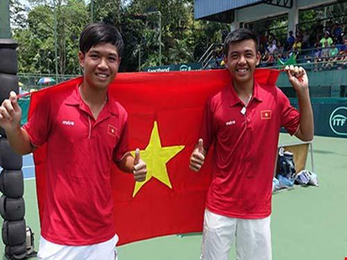 Hoàng Nam - Hoàng Thiên đả bại cặp đôi số 1 giải Việt Nam - 1