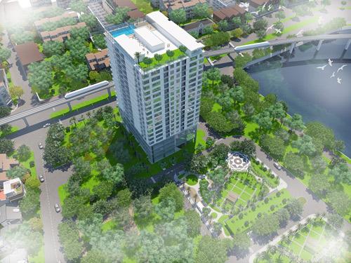 Hé lộ thông tin về dự án ven hồ Hoàng Cầu đẹp bậc nhất Hà Nội - 1