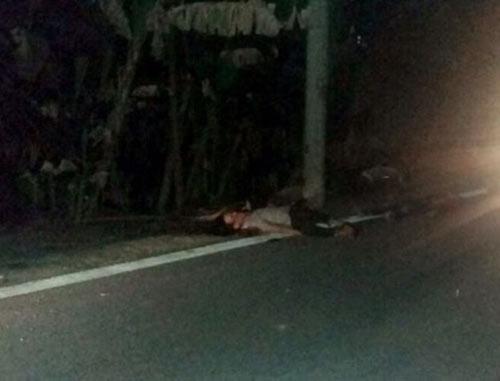 Nửa đêm, phát hiện nam thanh niên tử vong bên chiếc xe máy - 1