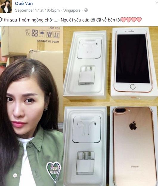 9 sao Việt sở hữu iPhone 7 đầu tiên - 4