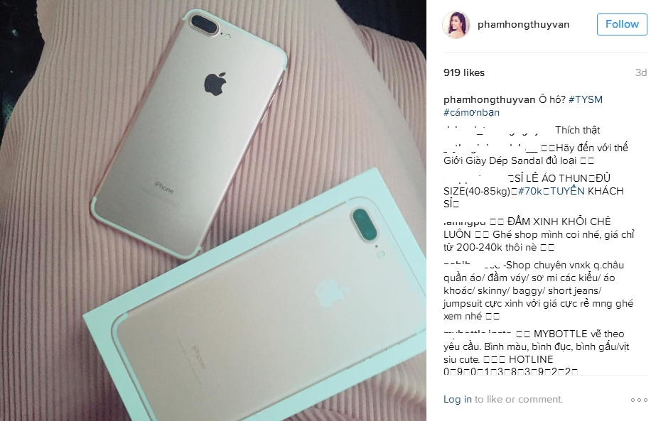 9 sao Việt sở hữu iPhone 7 đầu tiên - 5