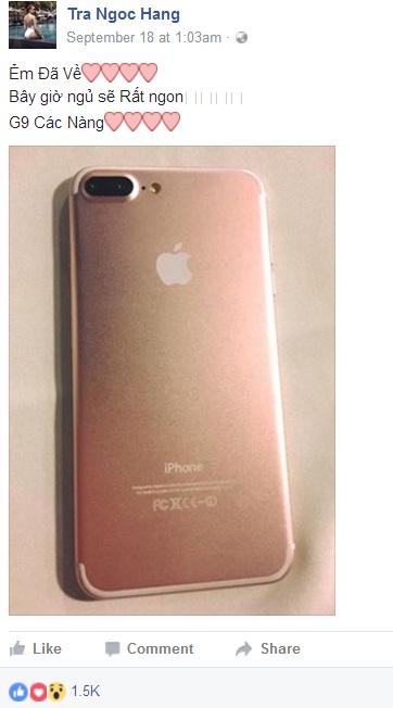9 sao Việt sở hữu iPhone 7 đầu tiên - 3