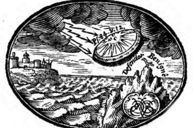 Tìm thấy bằng chứng UFO từ 300 năm trước - 1