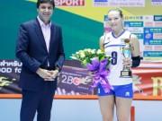 Thể thao - Bóng chuyền nữ: VĐV chuyền 2 xinh & hay nhất giải