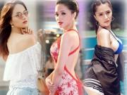 """Hương Giang Idol ngày càng """"nóng"""" với váy áo táo bạo"""