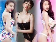 Đường cong hoàn hảo của 4 ca sĩ sexy nhất Vbiz