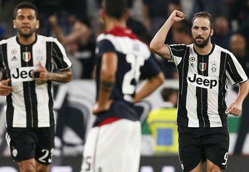 Juventus – Cagliari: Vua lại là Vua