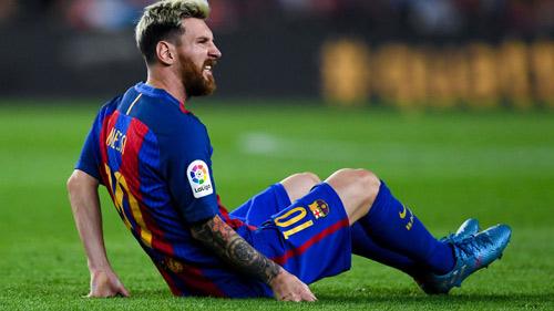 Messi rách cơ háng, có thể nghỉ trận gặp Man City - 1