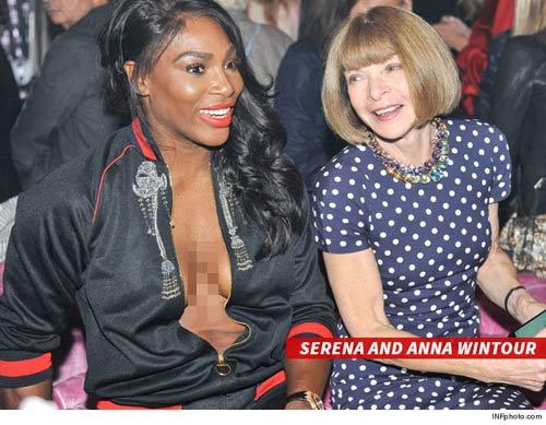"""Serena Williams """"hở bạo"""" đi dự sự kiện - 4"""