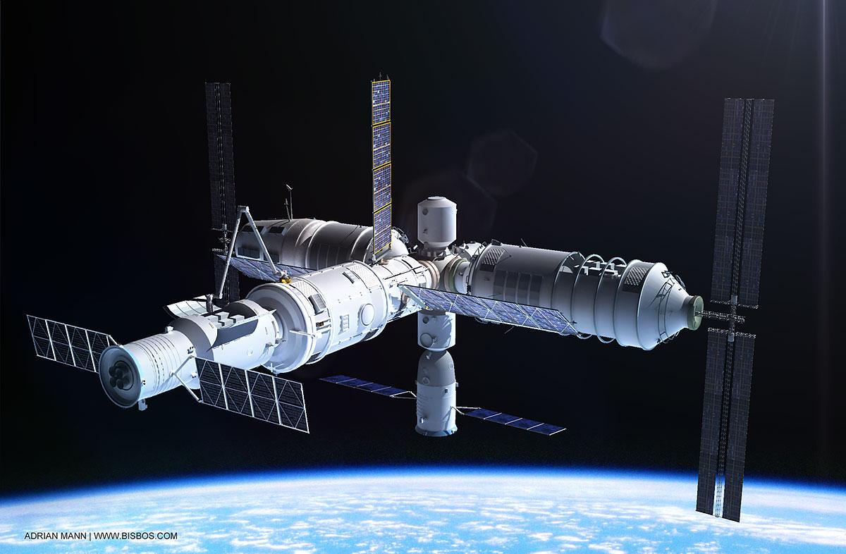 Trạm vũ trụ TQ mất kiểm soát, sắp đâm xuống Trái đất - 1