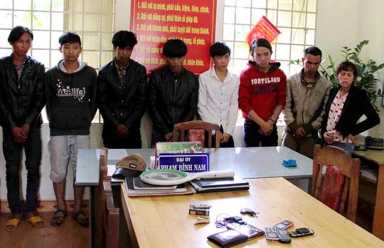 """Bắt """"tập đoàn"""" đòi nợ thuê hung hãn ở Lâm Đồng - 1"""