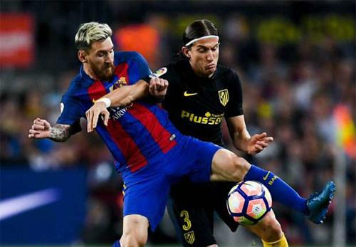 """Simeone buộc MSN """"tắt điện"""": Chìa khóa cầm chân Barca - 1"""