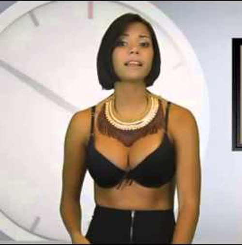 Đứng hình với 3 nữ MC hớ hênh trên sóng trực tiếp - 8