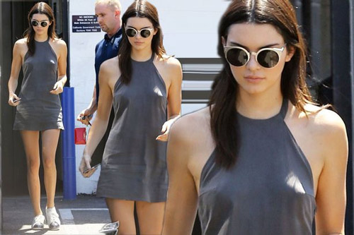 """Kendall Jenner đi đầu phong trào """"thả rông"""" ở Hollywood - 13"""