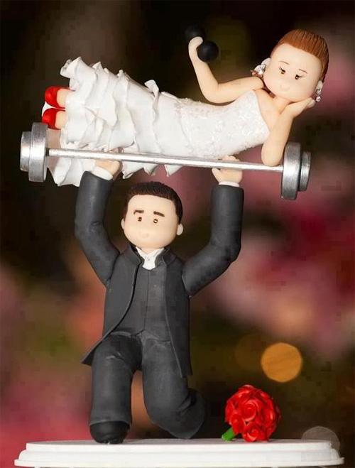 Thông điệp hài hước từ những chiếc bánh cưới - 2