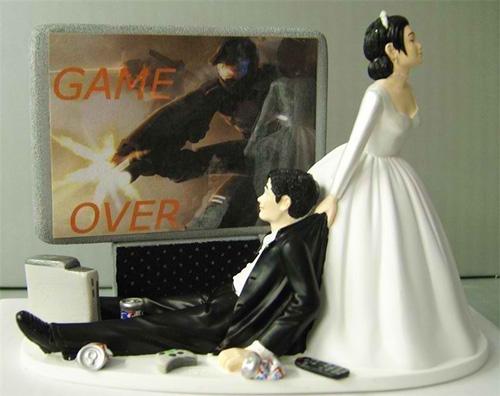 Thông điệp hài hước từ những chiếc bánh cưới - 9