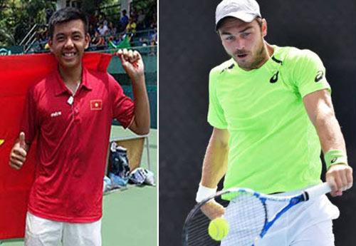"""Tennis F5 Việt Nam: Hoàng Nam bất ngờ """"bắn hạ"""" nhà vô địch - 1"""