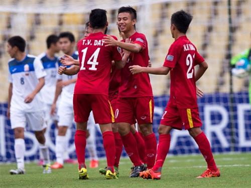 U16 Kyrgyzstan run sợ trước đội mạnh U16 Việt Nam - 1