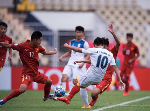 U16 Kyrgyzstan run sợ trước đội mạnh U16 Việt Nam - 2