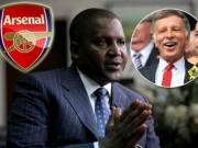 Bóng đá - Tin HOT tối 22/9: Tỷ phú châu Phi sắp thôn tính Arsenal