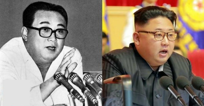 Kim Jong-un khác cha, giống ông nội thế nào - 1