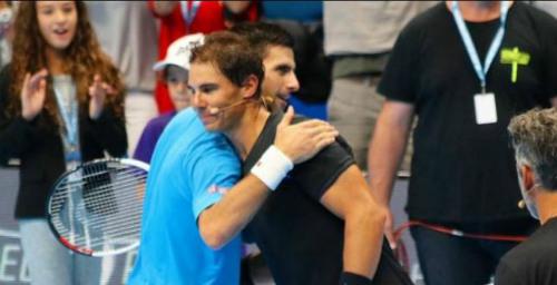 Gây quỹ từ thiện ở Ý, Djokovic lại thắng Nadal - 1