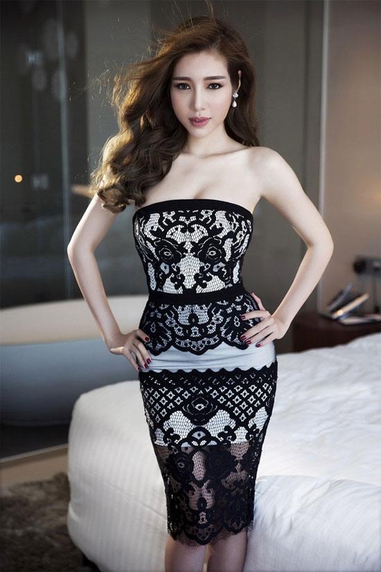 Suốt 8 năm, Elly Trần chỉ diện mốt khoe đường cong - 9