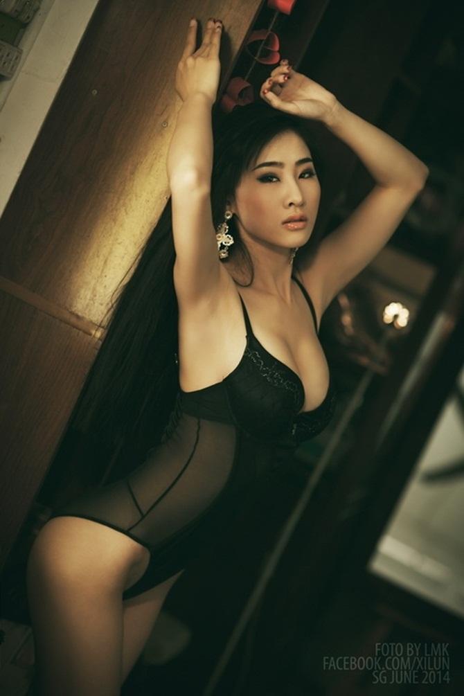 """Mướt mắt ngắm gu mặc """"bốc lửa"""" của 3 nữ DJ Việt - 7"""