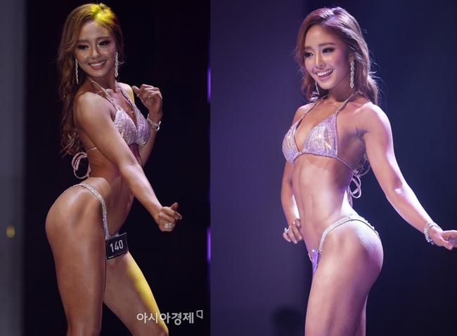 Choáng với hình thể sexy của mỹ nữ bóng chày xứ Hàn - 1