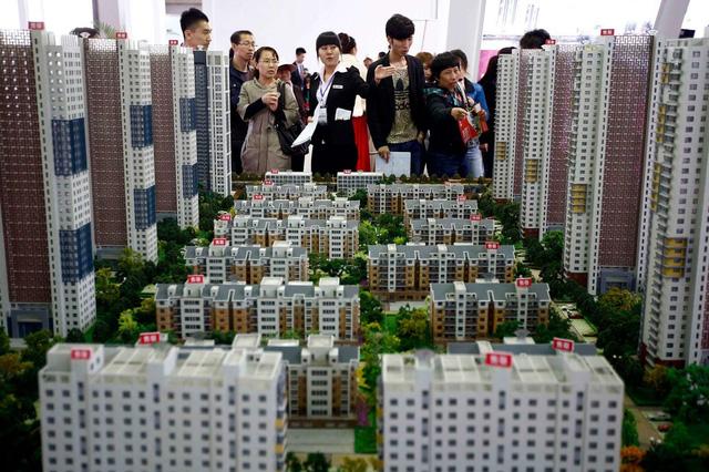 Bong bóng bất động sản Trung Quốc có nguy cơ vỡ tung - 1
