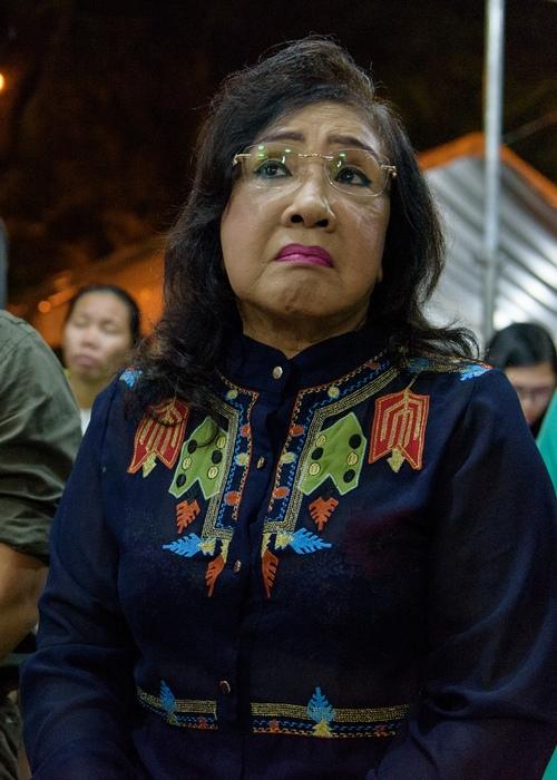 Đồng nghiệp đến viếng nghệ sĩ cải lương Thanh Tòng trong đêm - 6