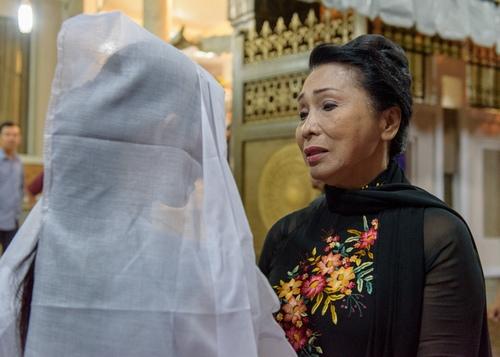 Đồng nghiệp đến viếng nghệ sĩ cải lương Thanh Tòng trong đêm - 5