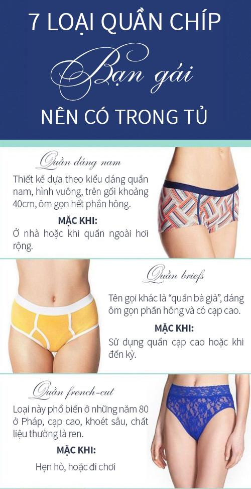 7 loại quần chíp bạn gái nên có trong tủ - 1