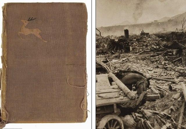 Ảnh hiếm:12 tiếng sau khi Mỹ ném bom nguyên tử Nagasaki - 1