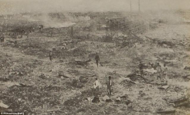 Ảnh hiếm:12 tiếng sau khi Mỹ ném bom nguyên tử Nagasaki - 5