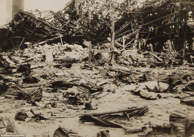 Ảnh hiếm:12 tiếng sau khi Mỹ ném bom nguyên tử Nagasaki - 12