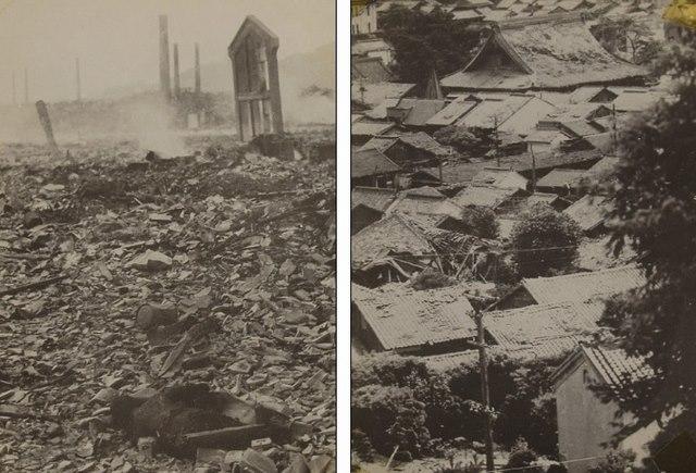 Ảnh hiếm:12 tiếng sau khi Mỹ ném bom nguyên tử Nagasaki - 10