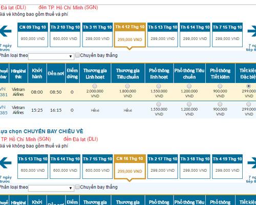 Kinh nghiệm vàng săn vé máy bay giá rẻ Vietnam Airlines, Vietjet và Jetstar - 2