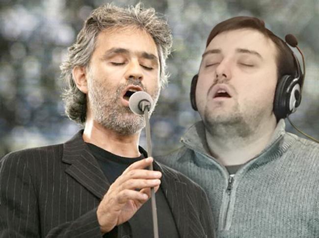 Ông anh hát hay quá làm em ngủ quên mất.
