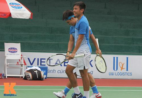 Vang dội: Hoàng Nam - Hoàng Thiên vào chung kết giải Futures VN - 1