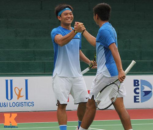 Vang dội: Hoàng Nam - Hoàng Thiên vào chung kết giải Futures VN - 6