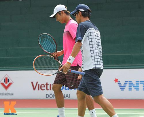 Vang dội: Hoàng Nam - Hoàng Thiên vào chung kết giải Futures VN - 5