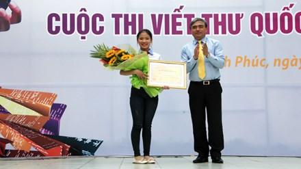 Việt Nam giành giải nhất thi viết thư quốc tế UPU - 1