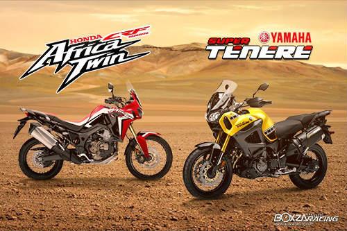 So găng Honda CRF1000L Africa Twin và Yamaha Super Tenere - 1
