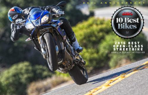 Top 10 môtô tốt nhất năm 2016 - 2