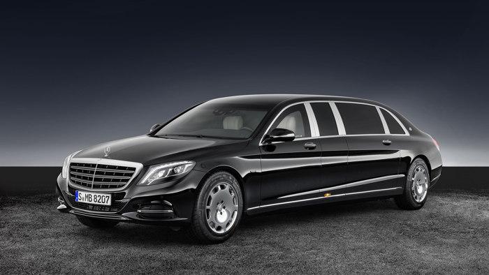 Mercedes-Maybach S600 Pullman Guard - Chiếc limousine chống đạn siêu sang - 1