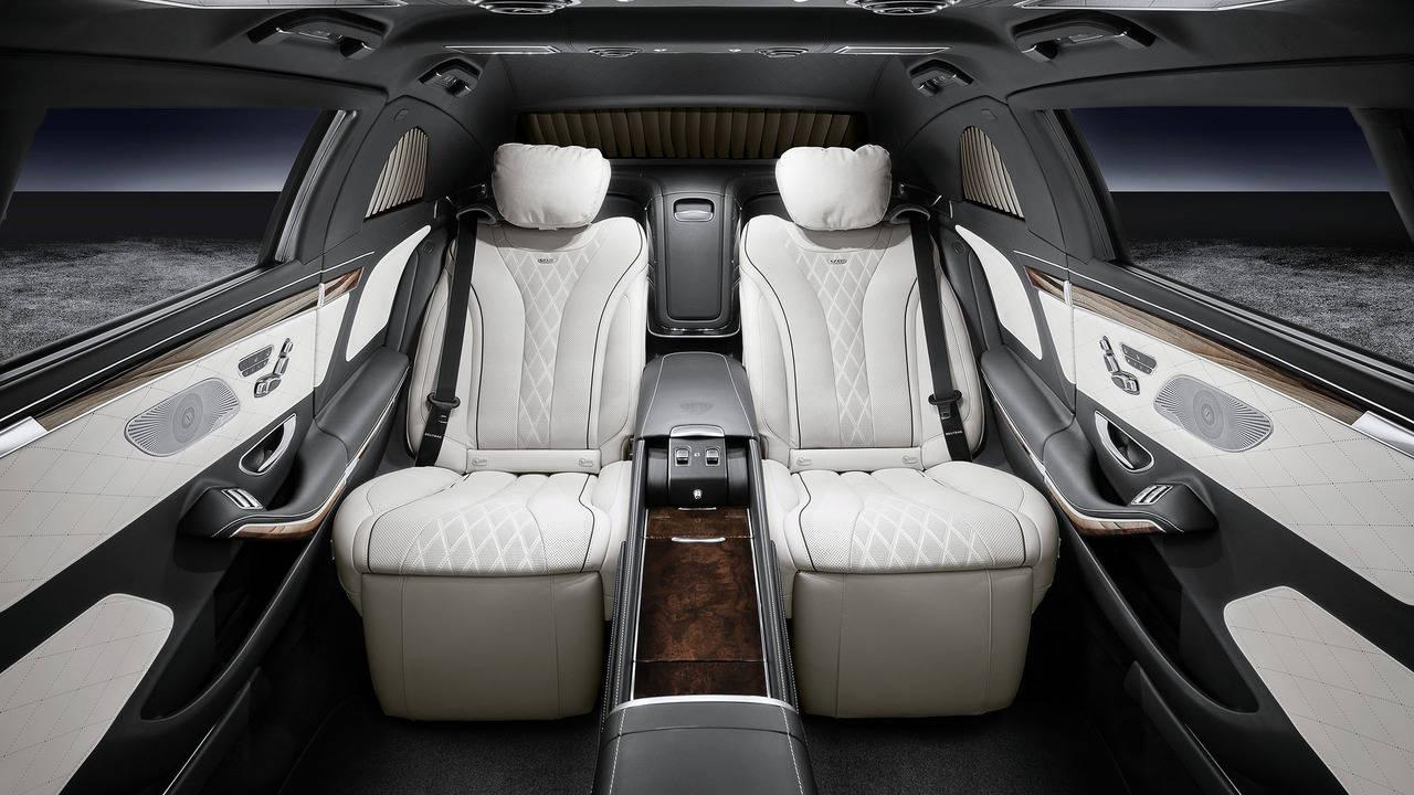 Mercedes-Maybach S600 Pullman Guard - Chiếc limousine chống đạn siêu sang - 4